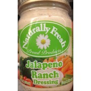Naturally Fresh Jalapeno Ranch Dressing: Calories, Nutrition Analysis & More | Fooducate