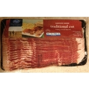 Kroger Bacon Sliced Hardwood Smoked Calories Nutrition Analysis Amp More Fooducate