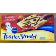 Pillsbury Toaster Strudel Chocolate & Strawberry Calories