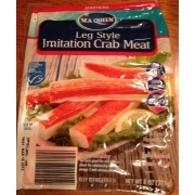 Sea Queen Leg Style Imitation Crab Meat: Calories, Nutrition Analysis & More | Fooducate