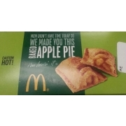 McDonalds Baked Hot Apple Pie