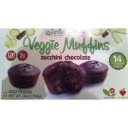 Garden lites veggie muffins calories nutrition analysis - Garden lites blueberry oat muffins ...