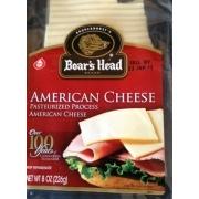 Boar's Head American Cheese: Calories