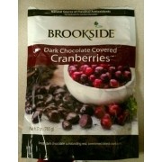 Brookside Dark Chocolate Covered Cranberries: Calories, Nutrition Analysis & More | Fooducate