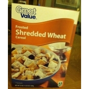 Great Value Frosted Shredded Wheat