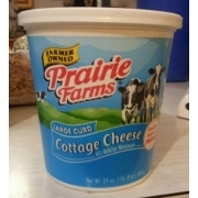 Prairie Farms Large Curd Cottage Cheese Calories