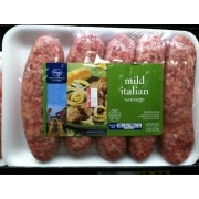 Kroger Mild Italian Sausage: Calories, Nutrition Analysis & More | Fooducate