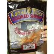 Royal Tiger Cooked Shrimp, Tail On, Peeled, Cooked ...
