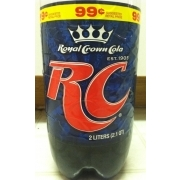 RC Cola: Calories, Nutrition Analysis