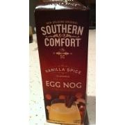 Southern Comfort Egg Nog Vanilla Spice Flavored Calories