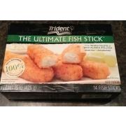 Trident seafood wild alaska pollock fish sticks calories for Trident fish sticks