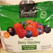 Essential Everyday Berry Medley: Calories, Nutrition Analysis & More ...