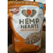 Shelled hemp seeds nutrition