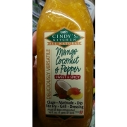 Cindy\'s Kitchen Mango Coconut & Pepper Dressing: Calories, Nutrition ...