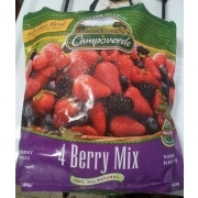 Campoverde 4 Berry Mix Calories Nutrition Analysis