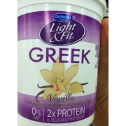 Dannon Light U0026 Fit Greek Yogurt, Non Fat, Vanilla