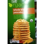Fresh Easy Organic Whole Wheat Pancake Mix Calories Nutrition
