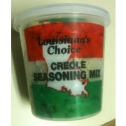 Louisiana's Choice Creole Seasoning Mix: Calories, Nutrition