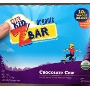 Clif Kid Z Bar Organic Chocolate Chip Bar