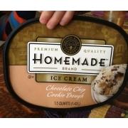 Photo of united Dairy Farmers Premium Quality Homemade Brand, Ice Cream, Chocolate Chip Cookie
