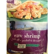 kroger raw shrimp calories nutrition analysis more fooducate. Black Bedroom Furniture Sets. Home Design Ideas