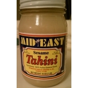 Sesame tahini nutrition