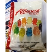 Albanese World's Best 12 Flavor Gummi Bears. nutrition grade C