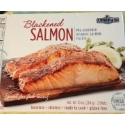 c wirthy co blackened salmon calories nutrition analysis more fooducate. Black Bedroom Furniture Sets. Home Design Ideas