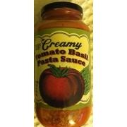 Photo Of Trader Joe S Creamy Tomato Basil Pasta Sauce