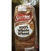 Sara Lee Classic 100% Whole Wheat Bread