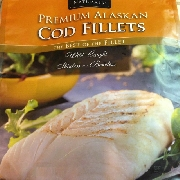 User added premium alaskan cod fillets trident naturals for Cod fish nutrition