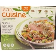 Lean Cuisine Salmon with Basil: Calories, Nutrition Analysis & More | Fooducate