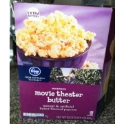 Kroger Movie Theater Butter Popcorn Calories Nutrition Analysis More Fooducate