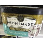 Homemade Brand Mint Chocolate Chip Ice Cream