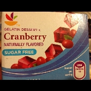 User added: Sugar free Jello Cranberry: Calories, Nutrition Analysis & More | Fooducate