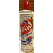 Kroger Original Whipped Dairy Topping: Calories, Nutrition ... Kroger Whipping Cream