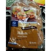 Kroger Sliders Mini Buns: Calories, Nutrition Analysis & More | Fooducate