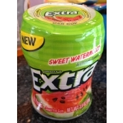 Wrigley's Extra Sugar Free Sweet Watermelon Gum: Calories, Nutrition Analysis & More | Fooducate