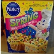 Calories In Pillsbury Funfetti Cake Mix
