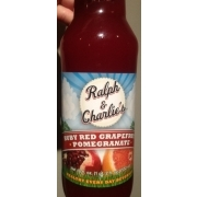 Ralph & Charlie's Ruby Red Grapefruit Pomegranate Drink: Calories ...