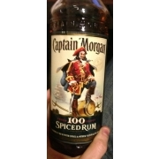 Captain Morgan Rum, Spiced: Calories