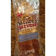 Nature's Harvest Butter Top Whole Grain White Bread: Calories, Nutrition Analysis & More | Fooducate
