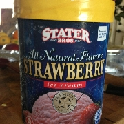 User added: Stater bros strawberry ice cream: Calories, Nutrition Analysis & More | Fooducate