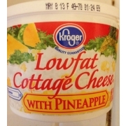 Kroger Cottage Cheese Low Fat With Pineapple