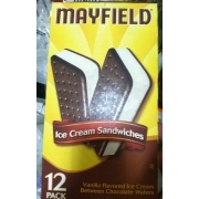 Mayfield Ice Cream Sandwiches, Vanilla