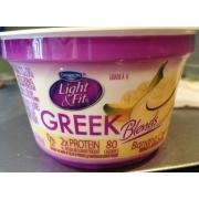 Dannon Light U0026 Fit Greek Yogurt, Non Fat, Banana Cream Awesome Ideas