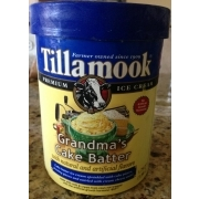 Photo Of Tillamook Ice Cream Grandmas Cake Batter