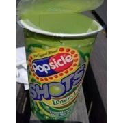 Popsicle Single Serve Novelty, Shots Lemon-Lime: Calories, Nutrition Analysis & More | Fooducate