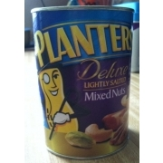 Planters Lightly Salted Mixed Nuts: Calories, Nutrition ysis ... on planters salted peanuts, planters unsalted nuts, planters tube nuts, planters dry roasted peanuts,