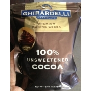Calories in unsweetened chocolate